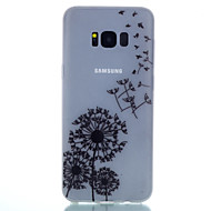 Недорогие Чехлы и кейсы для Galaxy S7 Edge-Кейс для Назначение SSamsung Galaxy S8 Plus S8 Сияние в темноте С узором Задняя крышка одуванчик Мягкий TPU для S8 S8 Plus S7 edge S7 S6