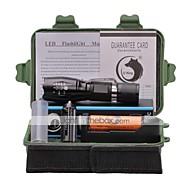 preiswerte Taschenlampen, Laternen & Lichter-2000 lm lm LED Taschenlampen LED 5 Modus - U'King Zoomable- / einstellbarer Fokus / Klammer