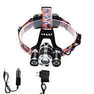 U'King Headlamps Headlight LED 4000 lm 4 12 Mode Cree XP-G R5 Cree XM-L T6 Adjustable Focus Compact Size Zoomable Easy Carrying High Power