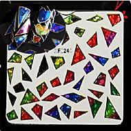 お買い得  ネイルステッカー-1pcs アートステッカーネイル グリッター素材 & パウダー 3Dネイルシール メイクアップ化粧品 ネイルアートデザイン