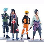 Las figuras de acción del anime Inspirado por Naruto Naruto Uzumaki 19 CM Juegos de construcción muñeca de juguete