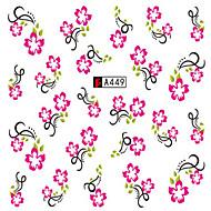 10pcs/set Nail Art matrica Víz Transfer matrica smink Kozmetika Nail Art Design