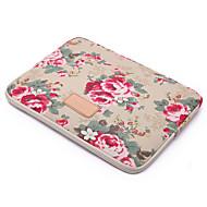 voor touch bar macbook 13.3 / 15.4 macbook lucht 11.6 / 13.3 macbook 13,3 / 15,4 Paeonia patroonontwerp schokbestendige laptop sleeve tas