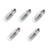 4W E26 E27 LED-lampa T 84 lysdioder SMD 2835 Kallvit 350lm 6000