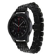 Χαμηλού Κόστους Έξυπνο Ρολόι Αξεσουάρ-για την κλασική σύνορα 22 χιλιοστών καρφίτσες χάλυβα ζώνη ρολογιών ανοξείδωτου ταχείας απελευθέρωσης Samsung Gear s3 Ζώνη ρολογιών