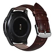 Недорогие Часы для Samsung-Ремешок для часов для Gear S3 Frontier / Gear S3 Classic Samsung Galaxy Классическая застежка Кожа Повязка на запястье