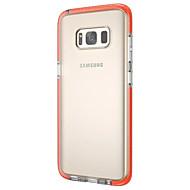 Для Ультратонкий Прозрачный Кейс для Задняя крышка Кейс для Один цвет Мягкий TPU для Samsung S8 S8 Plus