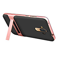 For Med stativ Etui Bagcover Etui Helfarve Hårdt PC for HuaweiHuawei P9 Huawei Honor V8 Huawei Honor 6X Huawei Mate 9 Huawei Mate 9 Pro