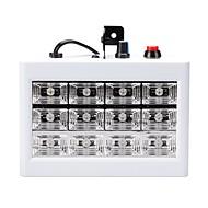 お買い得  -U'King 15W LEDステージライト 調整可 取り付けやすい 音検知 クールホワイト AC110-240