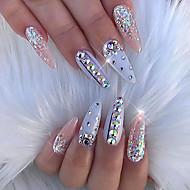 abordables Decoraciones y Diamantes Sintéticos para Uñas-1 pcs Joyería de uñas Abstracto / Boda Abstracto / Boda