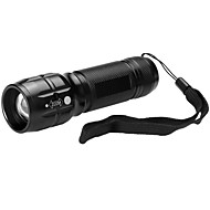 U'King LED Flashlights / Torch LED lm Mode Adjustable Focus Compact Size Small Size Zoomable for Camping/Hiking/Caving Everyday Use