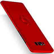 Недорогие Чехлы и кейсы для Galaxy S8 Plus-Кейс для Назначение SSamsung Galaxy S8 Plus S8 Кольца-держатели Ультратонкий Матовое Задняя крышка Сплошной цвет Твердый PC для S8 S8 Plus