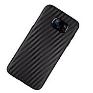 Funda Para Samsung Galaxy S7 edge S7 Ultrafina Cubierta Trasera Color sólido Suave TPU para S7 edge S7 S6 edge