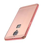 お買い得  携帯電話ケース-ケース 用途 OnePlus ワンプラス3 メッキ仕上げ バックカバー 純色 ハード アルミニウム のために One Plus 3 One Plus 3T One Plus 2 One Plus X OnePlus