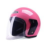 billige -Halvhjelm Anti-UV Pustende Motorsykkel Hjelmer