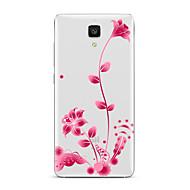 お買い得  携帯電話ケース-ケース 用途 Xiaomi クリア パターン バックカバー フラワー ソフト TPU のために Xiaomi Mi 5s Plus Xiaomi Mi 5s Xiaomi Mi 5 Xiaomi Mi 4s Xiaomi Mi 4 Xiaomi Mi 3