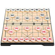 preiswerte Spielzeuge & Spiele-Bretsspiele Schachspiel Spielzeuge Magnetisch Kreisförmig Holz Chinesischer Stil Stücke Unisex Geschenk