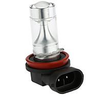 abordables -SENCART 2pcs H11 / H8 / PGJ19-1 Automatique Ampoules électriques 40W LED SMD 800-1500lm LED Phare arrière For Universel
