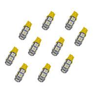 Недорогие Сигнальные огни для авто-10 шт. T10 Автомобиль Лампы 1.2W SMD 5050 85lm Светодиодная лампа Лампа поворотного сигнала For Универсальный