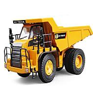 Gegoten voertuigen Speelgoedauto's Speeltjes Truck Constructievoertuig Graafmachine Vierkant Vrachtwagen Graafmachine Metaallegering
