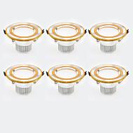 cheap -6Pcs Yangming3W 30006000K Warm White Cool White LED Canister Light (85-265V)  003