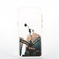 Для Покрытие Сияние в темноте Кейс для Задняя крышка Кейс для Панорама города Мягкий TPU для Samsung S8 S8 Plus