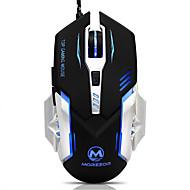 お買い得  -高品質のUSB 6d有線光学カラフルなコンピュータゲームマウスは、ゲーマーのためのスロントボタン付き