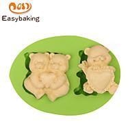 お買い得  キッチン用小物-ベーキングモールド アニマル 出芽 キャンディのための アイス チョコレート クッキー ケーキ Other シリコーンゴム シリコーン エコ DIY 誕生日 高品質 ホリデー
