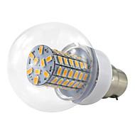 お買い得  LED ボール型電球-1個 6 W 500 lm B22 LEDコーン型電球 69 LEDビーズ SMD 5730 温白色 / クールホワイト 10-60 V / 1個 / RoHs