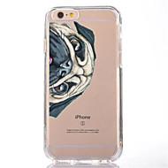Недорогие Сегодняшнее предложение-Назначение iPhone X iPhone 8 Чехлы панели Прозрачный С узором Задняя крышка Кейс для С собакой Мягкий Термопластик для Apple iPhone X