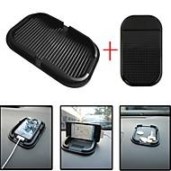 ziqiao車ダッシュボードスティッキーパッドマットアンチスリップガジェット携帯電話のGPSホルダーインテリアアイテムアクセサリー(giftscar小さなノンスリップマット)