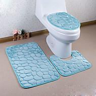abordables Alfombras y moquetas-1pc Modern Las alfombras de área Franela Contemporáneo Baño Fácil de limpiar