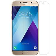 Недорогие Чехлы и кейсы для Galaxy A-Защитная плёнка для экрана Samsung Galaxy для A7 (2017) PET 1 ед. Защитная пленка для экрана Ультратонкий Зеркальная поверхность HD