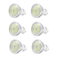 7W GU10 LED Spotlight 48 leds SMD 2835 Cold White 550-600lm 6000K AC110-240V