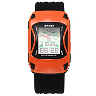 cheap Boy's Watches-SKMEI Men's Digital Watch / Sport Watch Water Resistant / Water Proof / Cool Silicone Band Flower / Fashion Black