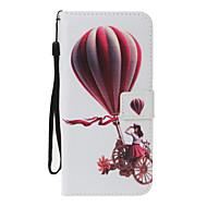 voordelige Galaxy A-serie hoesjes / covers-hoesje Voor Samsung Galaxy A5(2017) A3(2017) Kaarthouder Portemonnee met standaard Flip Patroon Volledig hoesje Balloon Hard PU-nahka voor