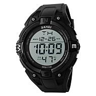 Недорогие Фирменные часы-SKMEI Муж. Спортивные часы электронные часы Японский Цифровой 30 m Защита от влаги Будильник Календарь силиконовый Группа Цифровой Черный - Оранжевый Серый Синий Два года Срок службы батареи / LED