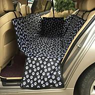 Γάτα Σκύλος Κάλυμμα Καθίσματος Αυτοκινήτου Κατοικίδια Χαλάκια & Μαξιλαράκια Μονόχρωμο Φορητό Με δύο πλευρές Αναπνέει Πτυσσόμενο Μασάζ