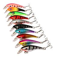 """10 szt Twarda Bait Ogólna nazwa kilku drobnych ryb Návnady Przynęta twarda Błystki Różne kolory g/Uncja,57 mm/2-1/4"""" cal,Twardy plastik"""