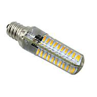 5W E14 E12 E17 BA15D 2-pins LED-lampen T 80 leds SMD 4014 Dimbaar Warm wit Koel wit 400-500lm 2800-3200/6000-6500K AC 220-240V