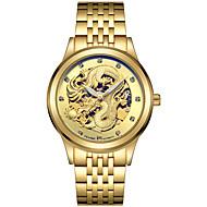 Tevise Мужской Для пары Спортивные часы Часы со скелетом Модные часы Механические часы Кварцевый С автоподзаводомКалендарь Защита от