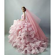 결혼식 드레스 에 대한 바비 인형 에 대한 여자의 인형 장난감
