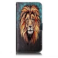 tanie Etui na telefony-Kılıf Na LG Etui na karty Portfel Z podpórką Flip Magnetyczne Wzór Wytłaczany wzór Pełne etui Zwierzę Twarde Skóra PU na LG G6