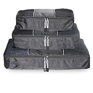 お買い得  トラベル小物-3個 旅行かばんオーガナイザー 旅行用洗面道具バッグ 防水 携帯用 小物収納用バッグ クロス ブラジャー メッシュ生地 トラベル