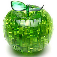 cheap Toys & Hobbies-3D Puzzles Crystal Puzzles Toys Apple 3D Plastic Not Specified Pieces