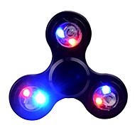 お買い得  おもちゃ & ホビーアクセサリー-Hand spinne ハンドスピナー おもちゃ ハイスピード ADD、ADHD、不安、自閉症を和らげる キリングタイム フォーカス玩具 ストレスや不安の救済 オフィスデスクのおもちゃ LEDライト トライスピナー LEDスピナー メタル クラシック 1 小品 男の子 女の子