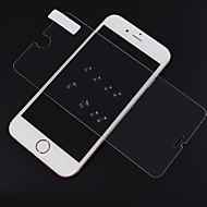 Недорогие Защитные плёнки для экрана iPhone-Защитная плёнка для экрана для Apple iPhone 7 Закаленное стекло 1 ед. Защитная пленка для экрана HD / Уровень защиты 9H / 2.5D закругленные углы