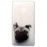 Voor IMD Transparant Patroon hoesje Achterkantje hoesje Hond Zacht TPU voor Huawei Huawei P10 Huawei P9 Lite Huawei P8 Lite (2017)