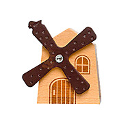 cheap Toys & Hobbies-Music Box Toys Windmill Wood Pieces Unisex Gift
