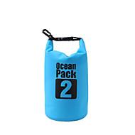 abordables Bolsas y cajas impermeables-2L Bolso seco impermeable Ligeras, Flotante, Impermeable para Surfing / Buceo / Natación